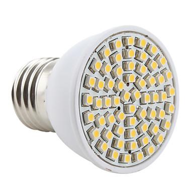 2800lm E26 / E27 LED bodovky MR16 60 LED korálky SMD 3528 Teplá bílá 220-240V