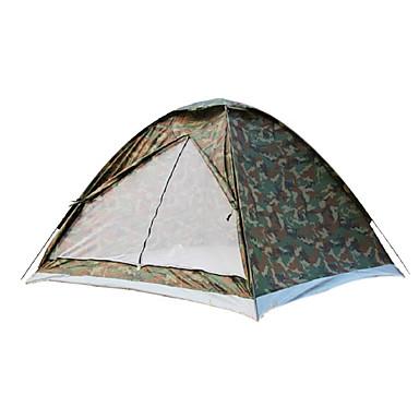 3-4 Personen Einzeln Camping Zelt Einzimmer Falt-Zelt Festigkeit Wasserdicht Windundurchlässig Regendicht Staubdicht Anti-Insekten