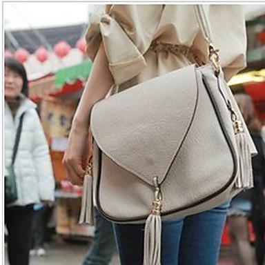 retro kwastje cross-body bag (27cm * 22cm * 9cm)