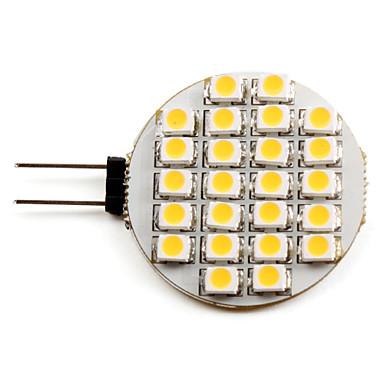 2700lm G4 Spoturi LED 24 LED-uri de margele SMD 3528 Alb Cald 12V