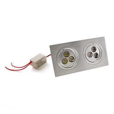 540 lm Lumini Recessed / Plafonieră Spot Încastrat 6 LED-uri de margele LED Putere Mare Alb Natural 85-265 V
