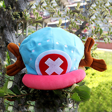 Hut/ Mütze Inspiriert von One Piece Tony Tony Chopper Anime Cosplay Accessoires Hut Schalenbauweise (Cap) Samt Herrn neu