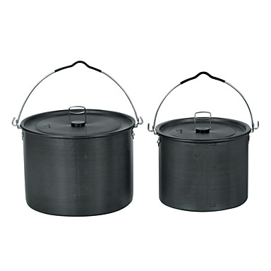14-16 People Crane Pot Cookset (6.5L Pot, 10.5L Pot)