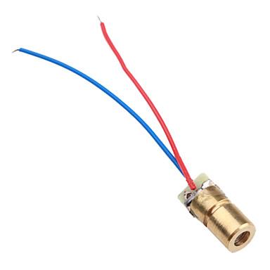6mm 3V 5mW punct laser dioda modul cap WL roșu 650nm