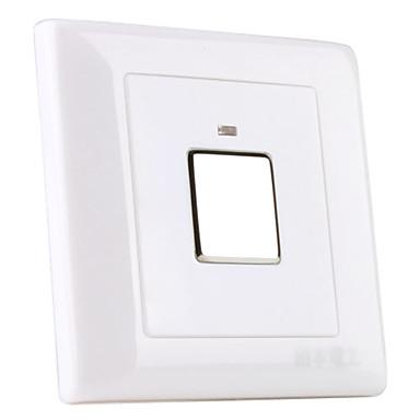 3-draads systeem muurbevestiging touch sensor geleid lichtschakelaar (180-240v)