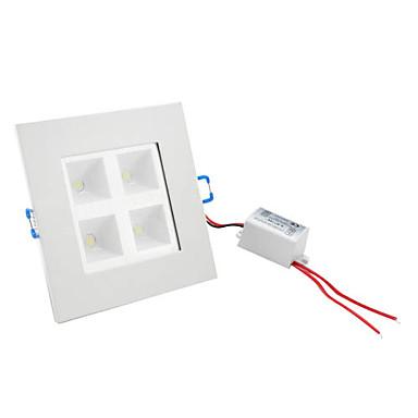 4W 400-440LM 6000-6500K Natural White Light Ceiling Lamp LED Bulb (85-265V)