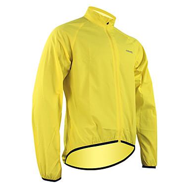 SANTIC Men's / Women's Cycling Jacket Bike Jacket / Raincoat / Top Waterproof, Quick Dry, Windproof Green Bike Wear