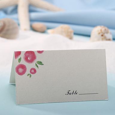 Tischkarte - schöne Blume (12er Set) Tischkartenhalter Hochzeitsfeier