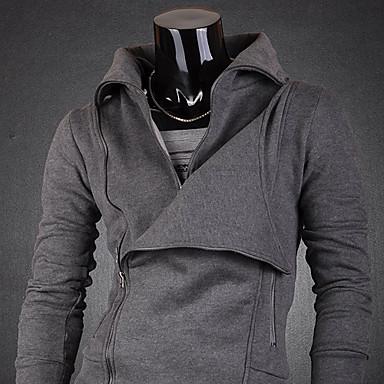 Men's Fleece Zippers Hoodie Jacket