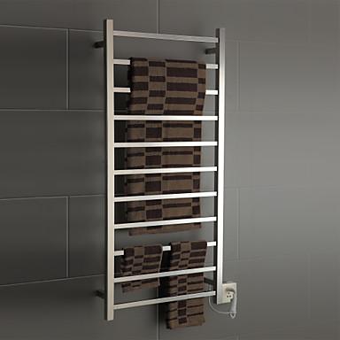 130w κομψότητα τοίχο τετράγωνο σωλήνα warmmer πετσέτα ξήρανση ράφι