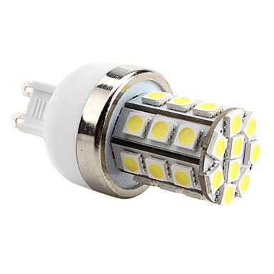 6000 lm G9 LED corn žárovky T 30 lED diody SMD 5050 Přirozená bílá AC 220-240V