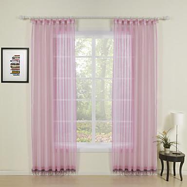 Kapsa tyče Vršek průchodky Vršek záložky Dvakrát skládané Window Léčba Grafika Jednobarevné 100% polyester Polyester Materiál Home