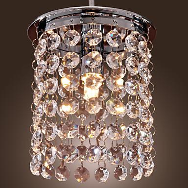 Mini Lumini pandantiv Lumină Spot - Cristal, Stil Minimalist, 110-120V / 220-240V Bec Inclus / G9 / 5-10㎡