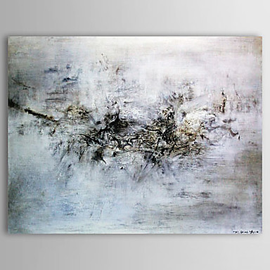 Pictat manual Abstract Orizontal Un Panou Canava Hang-pictate pictură în ulei For Pagina de decorare
