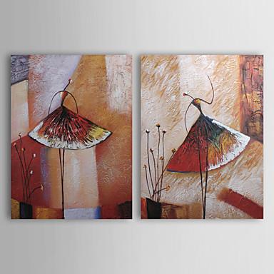 Hang oslikana uljanim bojama Ručno oslikana - Sažetak Comtemporary Platno