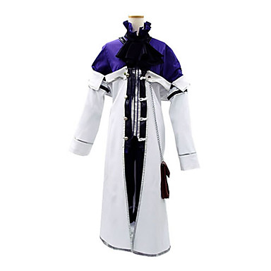 Inspirat de Pandora Hearts Xarxes Break Anime Costume Cosplay Costume Cosplay Peteci Manșon Lung Cravată Geacă Cămașă Pantaloni scurți