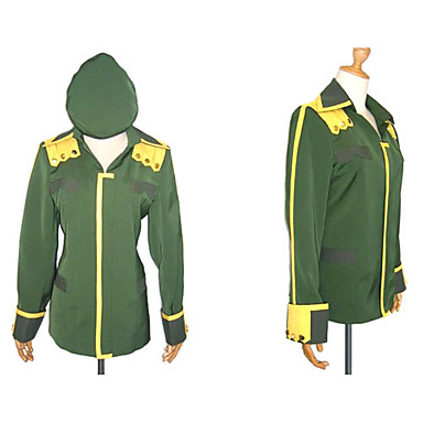 Inspired by Suzumiya Haruhi Itsuki Koizumi Anime Cosplay Costumes Cosplay Tops/Bottoms Patchwork Long Sleeves Coat Hat For Men's
