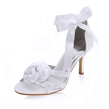 TIBETA - Sandalette Bruiloft Stilettohak Satijn