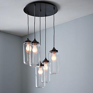 Vintage Tradițional/Clasic Stil Minimalist Lumini pandantiv Lumină Spot Pentru Sufragerie 110-120V 220-240V Becul nu este inclus