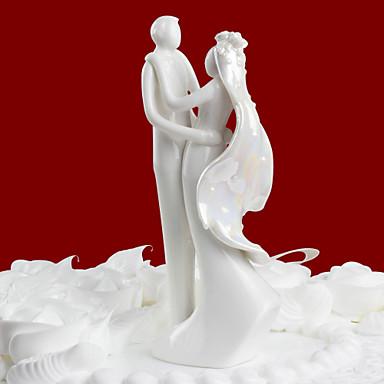 Kuchendeckel exquisite Braut und Bräutigam Design Kuchendeckel