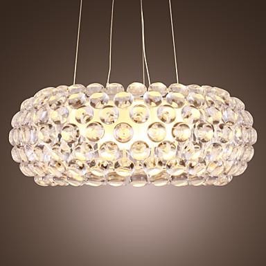 Kristal Avize Lambalar Aşağı Doğru - LED, 110-120V / 220-240V Ampul Dahil / Zincir / Kordon Ayarlanabilir / 20-30㎡