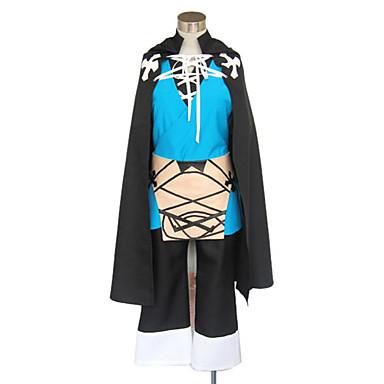 Inspireret af Uden for grænsen Konoe video Spil Cosplay Kostumer Cosplay Kostumer / Kimono Patchwork Langærmet 背心 / Top / Bukser