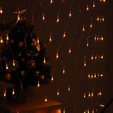 Leuchtgirlanden 120 LEDs LED Diode Gelb Party / Dekorativ / Urlaub 220-240 V 1pc / IP44