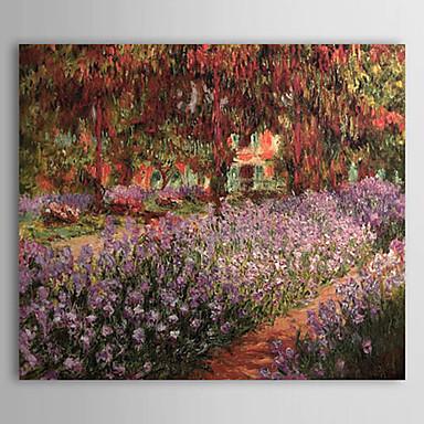 Hang oslikana uljanim bojama Ručno oslikana - Poznat Klasik / Tradicionalno Platno / Prošireni platno