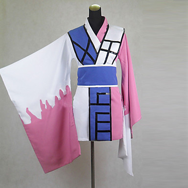 Inspired by Nurarihyon's Grandson Kyokotsu Anime Cosplay Costumes Cosplay Suits Kimono Patchwork Long Sleeves Belt Kimono Coat For Men's