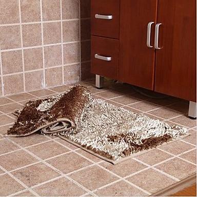 elaine vlákno voda absorbuje protiskluzová koberec (sada 2) (50 * 80 cm, khaki)
