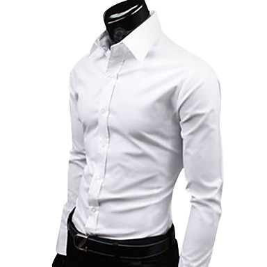Men's Cheap Fashion Candy Color Leisure Shirt(Assorted Colors And Sizes)