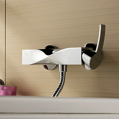 Sprinkle® Shower Faucets  ,  Contemporary  with  Chrome Single Handle Two Holes  ,  Feature  for Centerset / Widespread
