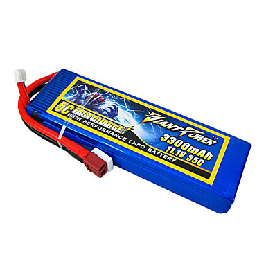 3300mAh 11.1V/3S 35C Lipo battery for RC model