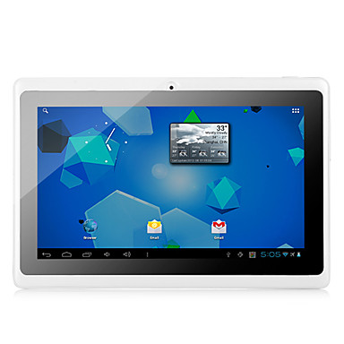 7 inch Android Tablet (Android 4.4 1024 x 600 Procesor Dublu 512MB+8GB) / TFT / # / 32 / 1.3 / TFT