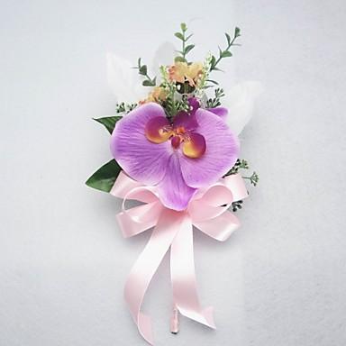 Brudebuketter Rose I Revers Bryllup Fest / aften Bomuld 3.94 tommer (ca. 10cm)