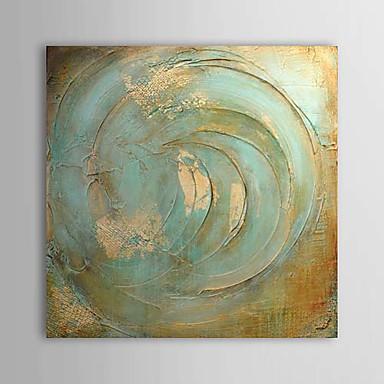 Hang-Painted öljymaalaus Maalattu - Abstrakti Comtemporary Kangas
