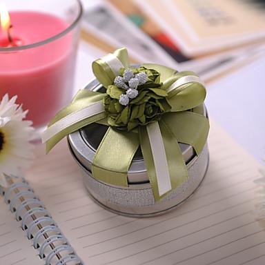 Κύλινδρος Tins Εύνοια Κάτοχος με Κορδέλες Λουλούδι Κουτιά Μποπονιέρων Τενεκεδάκια και Κάδοι Μποπονιέρων - 6