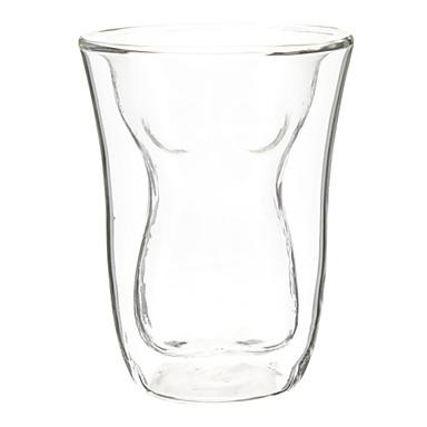 corp subțire în formă cu perete dublu din sticlă de bere