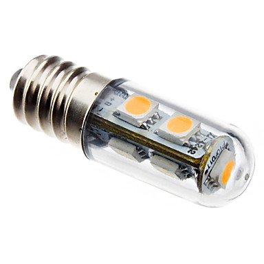 80 lm E14 LED Mısır Işıklar T 7 led SMD 5050 Sıcak Beyaz AC 220-240V