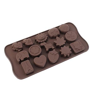 Hračky Téma Silikonové formy Chocolate