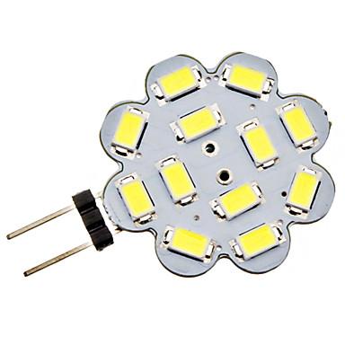 3W G4 LED Bi-pin Lights 12 SMD 5730 270 lm Natural White DC 12 V
