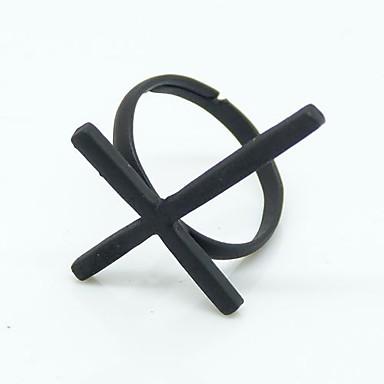 Ženska Jednostavno križ Metal Ring