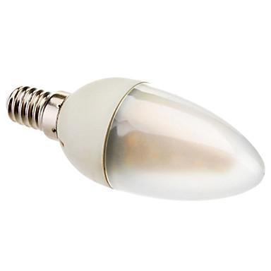 Eastpower Lâmpada Vela E14 2 W 130 LM 2800K K Branco Quente 24 SMD 3528 AC 85-265 V C