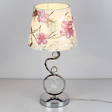 Lampada Da Tavolo Moderno In Cristallo Con Paralume In