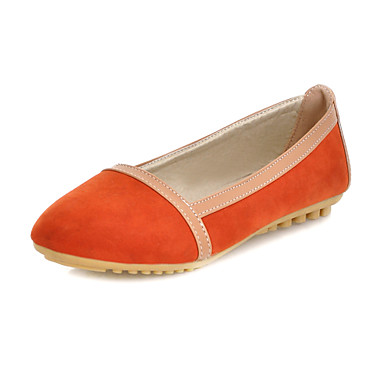 Suede Flat Heel Round Toe With Split Joint Party / Evening Shoes (More Colors)