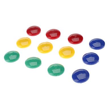 2cm Magnet rotunjite colorat (12buc)