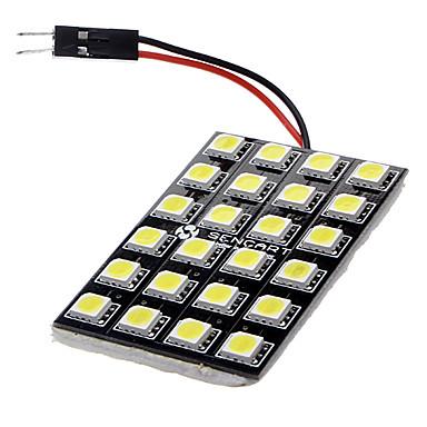 T10 / Festoon / BA9S Araba Ampul 3 W SMD LED 600 lm LED İç Işıklar