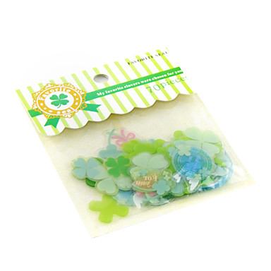 PVC dekorační samolepky (70 ks)