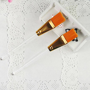 1PCS Orange Nail Art Brush for Velvet Decoration