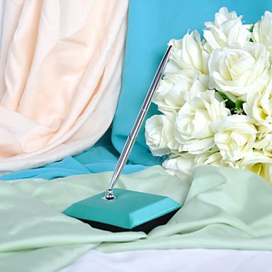 paví modři svatební pero nastavit znamení v knize